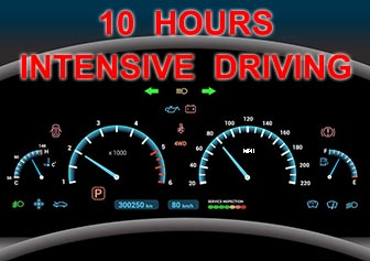 10 Hours Intensive Driving