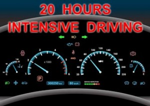 20 Hours Intensive Driving