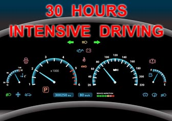 30 Hours Intensive Driving