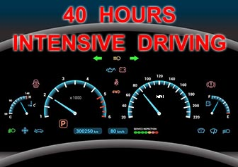40 Hours Intensive Driving