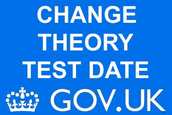 Change Theory Test Date